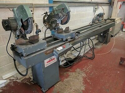 Miter,Saw,Double Headed,Window,Machinery,Joinery Machinery,Aluminium,Timber,upvc