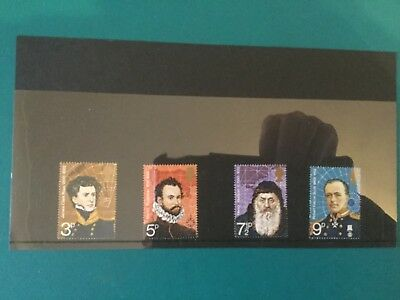 Gb mint stamps (r17) 1972 British Polar Explorers