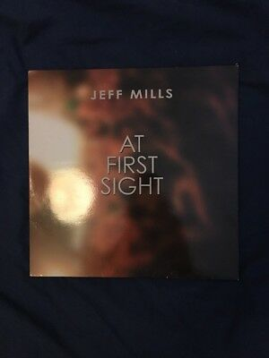 Jeff Mills- At First Sight 2xLP REACT/ AXIS
