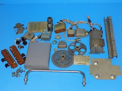Large Lot Of Vintage Military  Collins R-390  Receiver Parts
