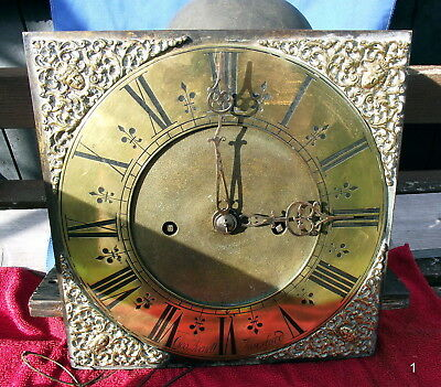 "EARLY 18th CENTURY LONCASE MOVEMENT "" GEO AVENELL, ALRESFORD"" COMPLETE, WORKING."