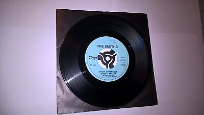 "The Smiths What difference does it make 7"" vinyl single 1984"