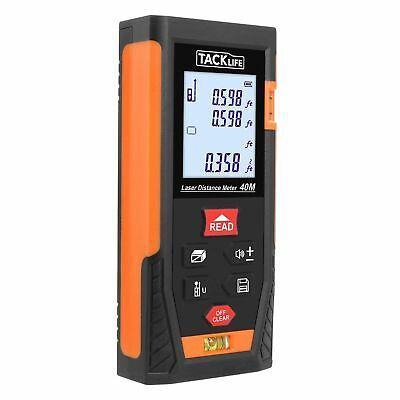 Tacklife HD40 Classic Laser Measure 131 Feet M/In/Ft Laser Distance Meter with 2