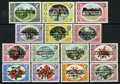 s626290 Dominica - Sc#584//99 MNH - Short Set