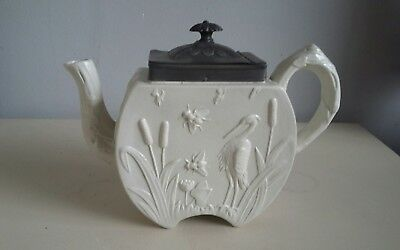 Stoneware teapot antique...