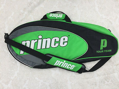 Prince Tour Team Green Black Grey Tennis Racquet Bag