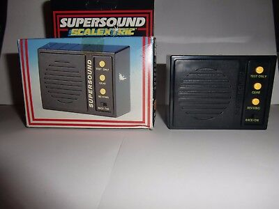 Scalextric Supersound sound box Hornby slot cars rare boxed