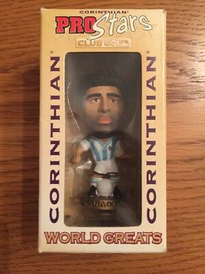 Corinthian Prostars World Greats Mint In Unopened Box Maradona Argentina