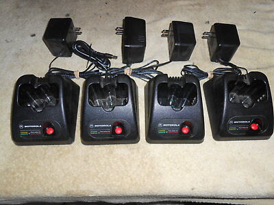 Motorola SP50 SP50+ Spirit Rapid Chargers lot of 4
