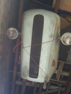 ford pop 103e front grille hotrod sit up n beg retro wall art