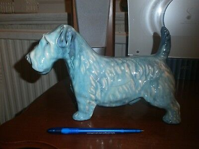 Vintage Beswick Selham Blue Terrier Dog -A/F