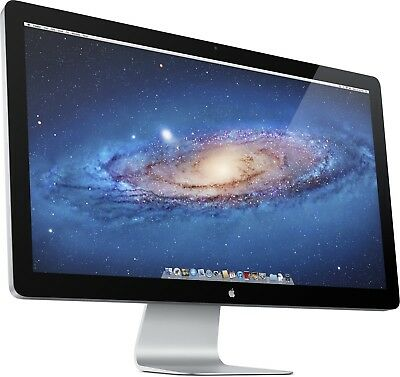 """Apple Thunderbolt Display 27"""" Widescreen LED Monitor, built-in Speakers MINT"""