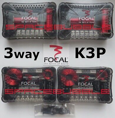 ► FOCAL K2 Power 3 way 4x Crossover 165 K2P + KBP High End K3P XO 2x 400W Max SQ