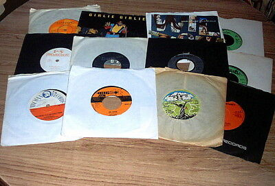 Reggae Singles Job  Lot Trojan  Desmond Dekker  Judge Dread Upsetters & More