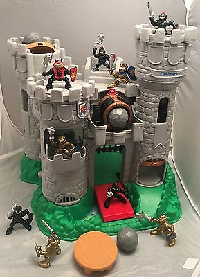 Fisher Price Castle Great Adventures Set #7110, Action Figures,1994. Complete