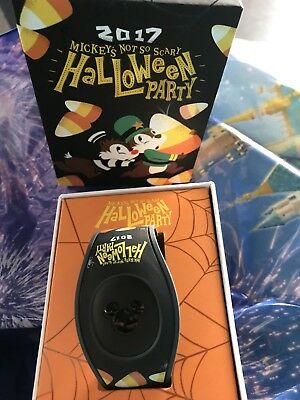 Mickey's Not So Scary Halloween Chip And Dale 2017 Magic Band Magicband LE 2500