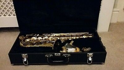 Alto Saxophone-Cranes Signature Series-Recently Overhauled-Lovely Tone & Action
