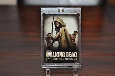 The Walking Dead Season 2  Promo Card  SDCC1  MICHONNE  SDCC