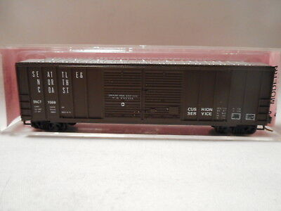 Roundhouse MDC N-Scale Seattle & North Coast 50' Modern Box Car - SNCT1088