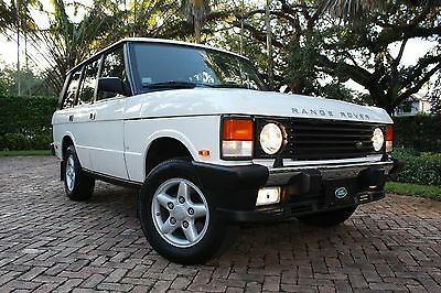 1995 Land Rover Range Rover County Classic Sport Utility 4-Door 1995 | LAND ROVER | RANGE ROVER | COUNTY CLASSIC | SWB