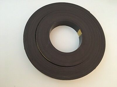 "MasterVision FM2021 Magnetic Adhesive Tape Roll  Black  1"" x 50 Ft."