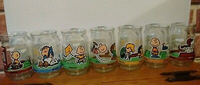 Welch's Peanuts Jelly Glasses