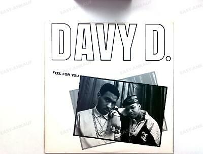 Davy D - Feel For You / Davy's Ride US Maxi 1987 /4