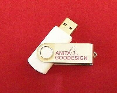 Official Anita Goodesign USB Drive, with 182 Full Embroidery Design Sets