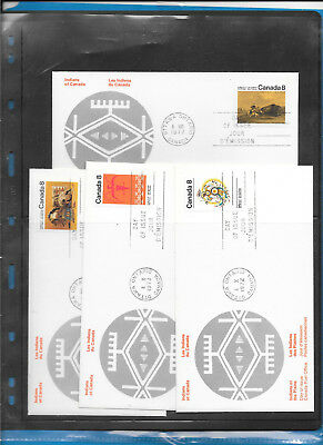 Canada  FDC   Rosecraft    #  562 to 65 Lot 1