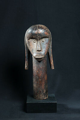 Fang, Reliquary Head Figure, Central Gabon, African Tribal Art, African Statues