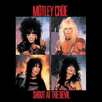Motley Crue Shout At The Devil 12x12 Borderless Glossy Album Art Print Replica