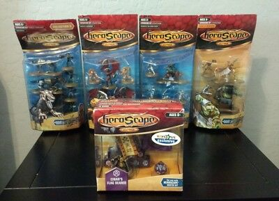 NEW Heroscape Lot: Einar's Flag Bearer, Wave 2 Utgar's Rage, Wave 5 Soulborgs