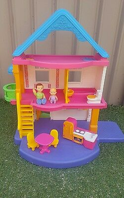 FISHER PRICE My First Dollhouse EUC