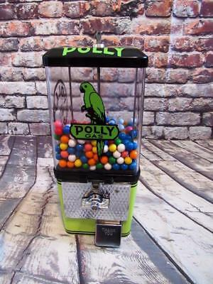 POLLY GAS vintage candy nuts gumball machine man cave accessories bar game room