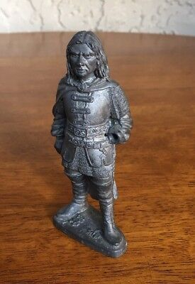 "Lord Of The Rings Pewter Aragorn Superior Models 1978 LOTR 4"" Miniature figure"