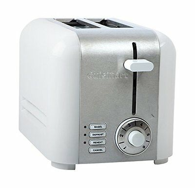 CUISINART CPT-320WC Compact 2-Slice Toaster, Brushed Stainless, Silver