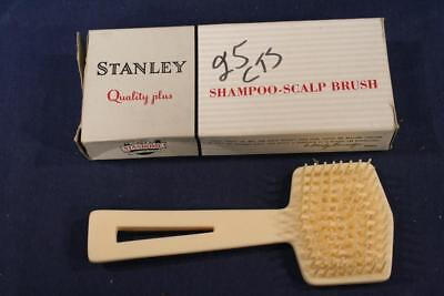 Vintage Stanley Home Products 54 Shampoo-Scalp Brush in org box