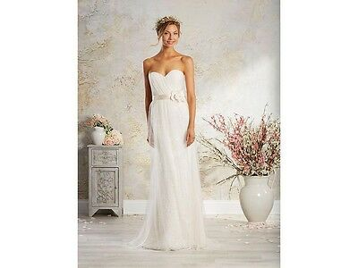 New with Tags Size 8 Alfred Angelo Bridal Gown Style 8565 Champayne/Ivory