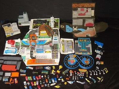Micro Machines Playsets Vehicles More Huge Toy Lot