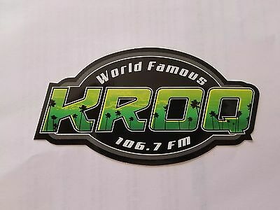 KROQ 2017 radio bumper sticker Green Day promo