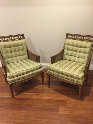 Set Of 2 Statesville Chair Co. Chairs *very Nice Cond*