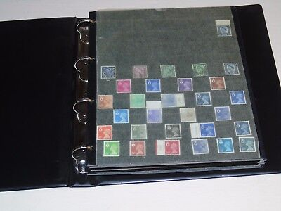 Stamp Pickers GB Channel Islands Stamps QEII Most Mint Album Collection Lot #1