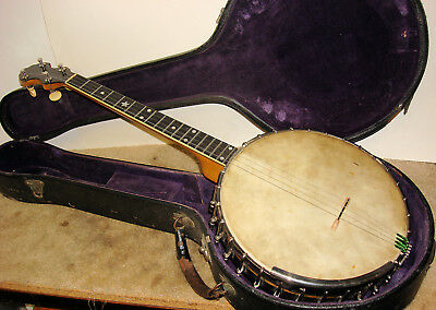 "1921 Fairbanks Vega ""Whyte Laydie"" Style R W/ Original Geib Case"