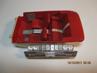 1964 Plymouth Front & Rear Bumpers & Interior JoHan 1/25
