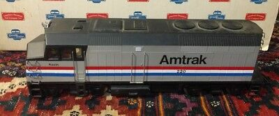 GREAT TRAINS G SCALE 34084 AMTRAK F40PH DIESEL LOCOMOTIVE #220 Powered RARE