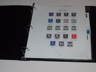 Stamp Pickers GB Scotland Specialized Album Collection Estate Lot $196+