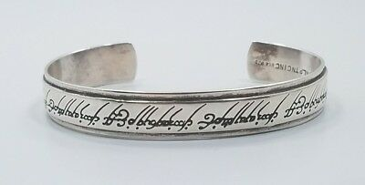 Modern Beautiful Sterling Silver 925 NLP TNC Lord of the Rings Bracelet