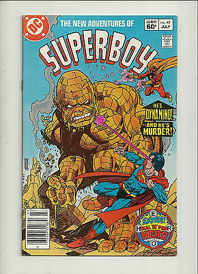 New Adventures of Superboy  #43  NM-