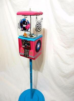 game room gumball candy dispenser Rock & 60's  roll record Northwestern machine