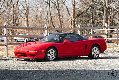 1992 Acura NSX Base Coupe 2-Door 1992 Acura NSX Manual, All original 58k miles 1-Owner